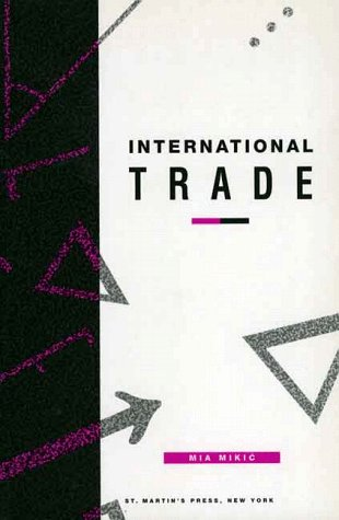9780312213121: International Trade (Texts in Economics)