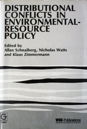 9780312213404: Distributional Conflicts in Environmental-Resource Policy