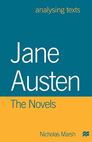 9780312213718: Jane Austen: The Novels (Analysing Texts)
