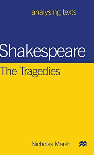 9780312213725: Shakespeare: The Tragedies (Analysing Texts)