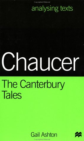 9780312213763: Chaucer: The Canterbury Tales (Analysing Texts)