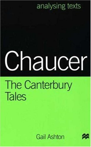 9780312213770: Chaucer: The Canterbury Tales (Analysing Texts)