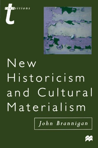 9780312213893: New Historicism and Cultural Materialism (Transitions)