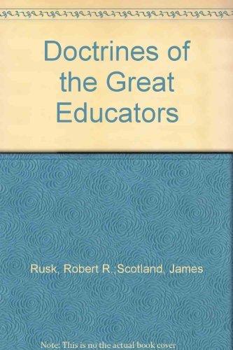 9780312214920: Doctrines of the Great Educators