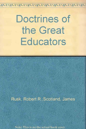 9780312214920: Doctrines of the Great Educators
