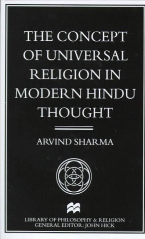 9780312216474: The Concept of Universal Religion in Modern Hindu Thought (Library of Philosophy and Religion)