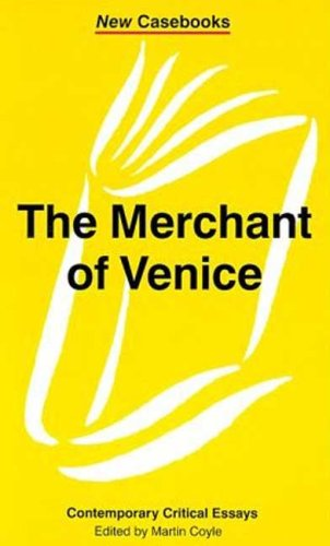 9780312216894: The Merchant of Venice: William Shakespeare (New Casebooks)