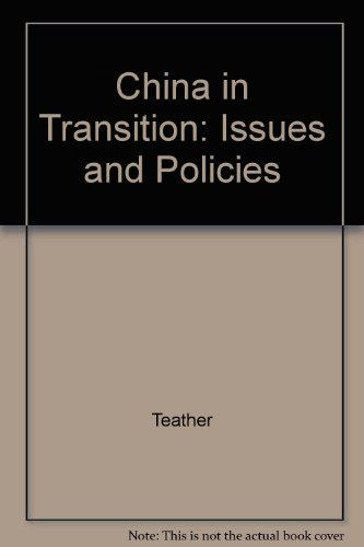 9780312219642: China in Transition: Issues and Policies