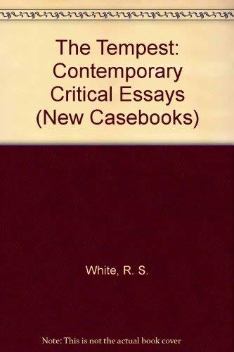 9780312220310: The Tempest: Contemporary Critical Essays (New Casebooks)