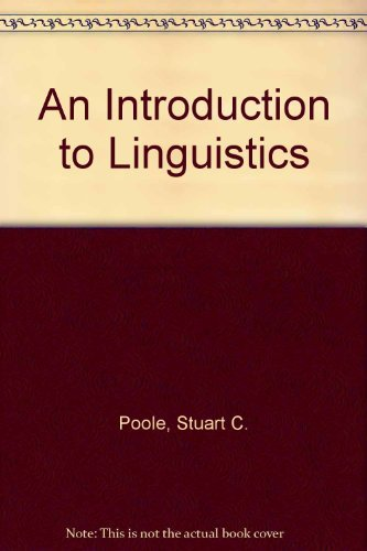 9780312221157: An Introduction To Linguistics