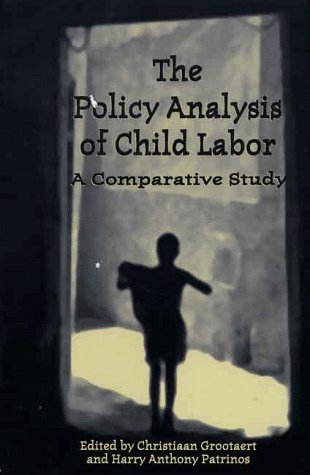 9780312221225: The Policy Analysis of Child Labor: A Comparative Study