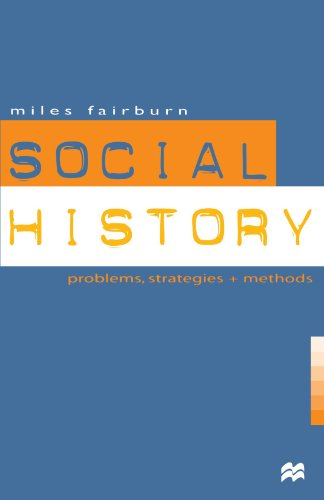 9780312221249: Social History: Problems, Strategies and Methods