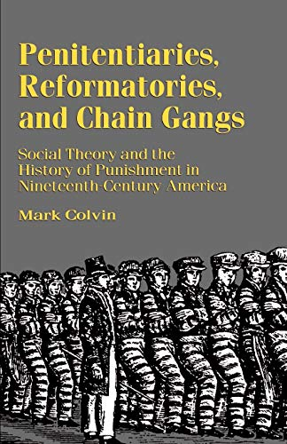 9780312221287: Penitentiaries, Reformatories, and Chain Gangs: Social Theory and the History of Punishment in Nineteenth-Century America