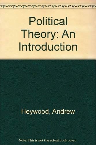 9780312221638: Political Theory: An Introduction