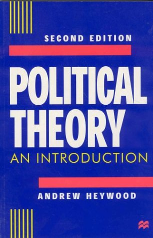 9780312221645: Political Theory: An Introduction