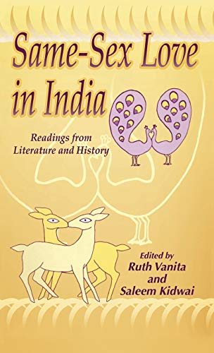 9780312221690: Same-Sex Love in India: Readings from Literature and History
