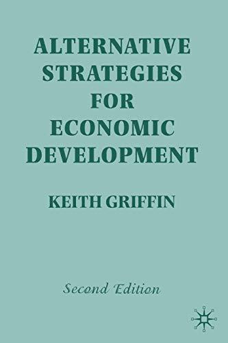 9780312223403: Alternative Strategies for Economic Development