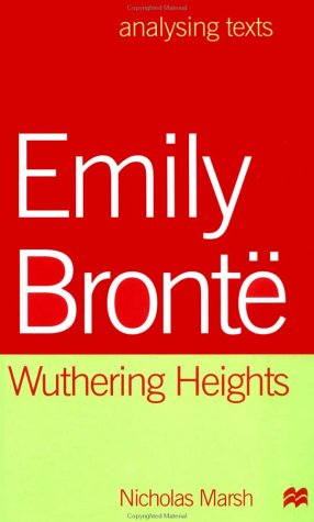 9780312223762: Emily Bronte: Wuthering Heights (Analysing Texts)