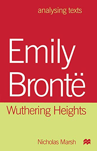 9780312223779: Emily Bronte: Wuthering Heights (Analysing Texts)