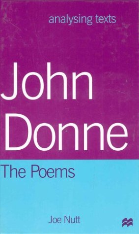 9780312225223: John Donne: The Poems (Analysing Texts)