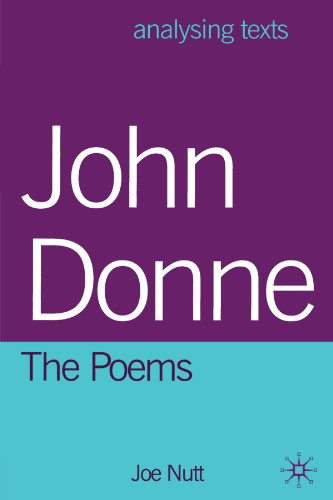 9780312225230: John Donne: The Poems (Analysing Texts)