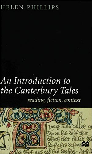 9780312227395: An Introduction to the Canterbury Tales: Fiction, Writing, Context