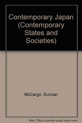 9780312227418: Contemporary Japan (Contemporary States and Societies)