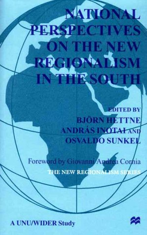 National Perspectives On the New Regionalism in the South: Vol. 3: n/a