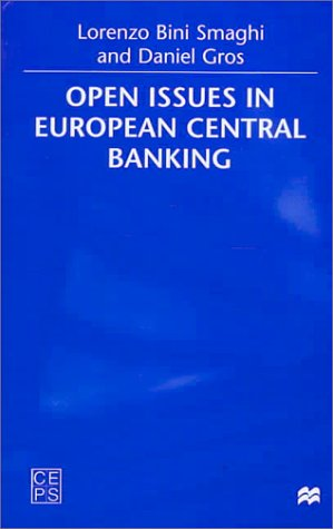 9780312228453: Open Issues in European Central Banking