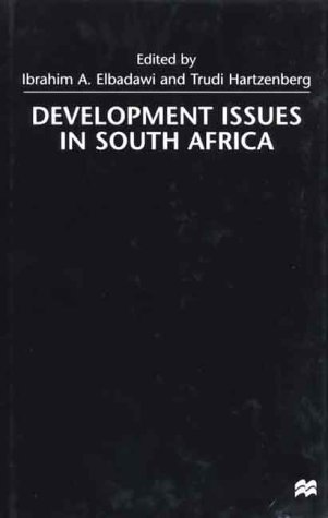 9780312229481: Development Issues in South Africa