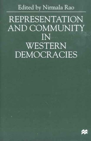 9780312229603: Representation and Community in Western Democracies