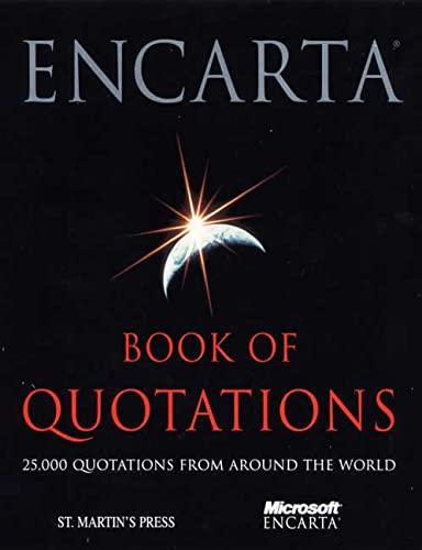 9780312230005: Encarta Book of Quotations
