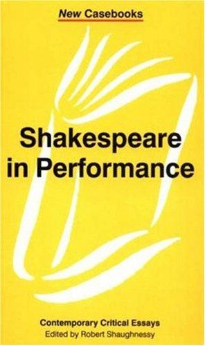 9780312233129: Shakespeare in Performance (New Casebooks)