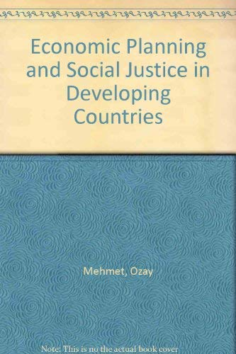 9780312234430: Economic Planning and Social Justice in Developing Countries