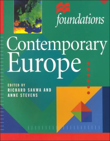 9780312236168: Contemporary Europe (Foundations (St. Martin's Press).)