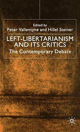 9780312236991: Left-Libertarianism and Its Critics: The Contemporary Debate