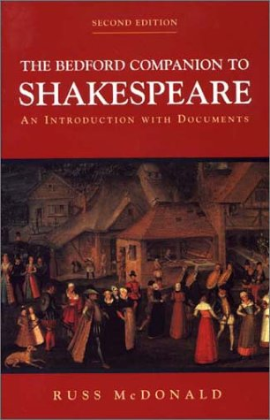 9780312237134: The Bedford Companion to Shakespeare: An Introduction with Documents