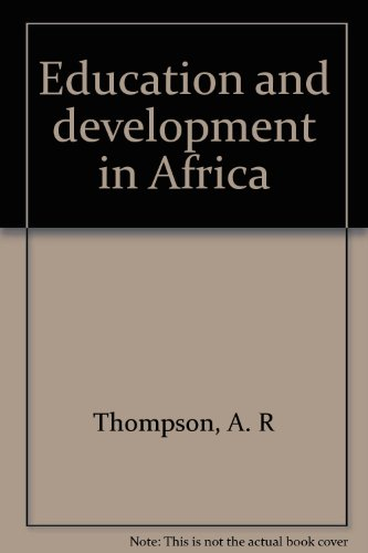 9780312237240: Education and development in Africa