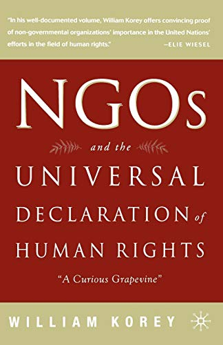 9780312238865: Ngos and the Universal Declaration of Human Rights: A Curious Grapevine