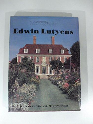 9780312239190: Edwin Lutyens (Architectural Monographs No 6)