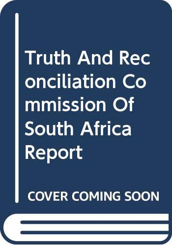 9780312239640: Truth And Reconciliation Commission Of South Africa Report: 2