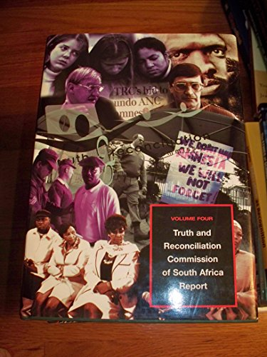 9780312239664: Truth and Reconciliation Commission of South Africa Report, Volume 4