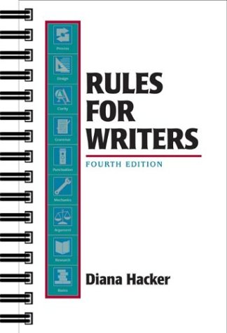 9780312241421: Rules for Writers: A Brief Handbook