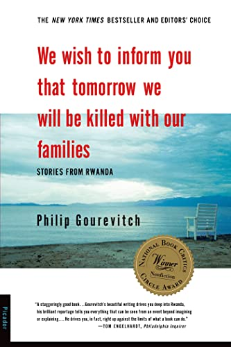 9780312243357: We Wish to Inform You That Tomorrow We Will Be Killed with Our Families: Stories from Rwanda (Bestselling Backlist)