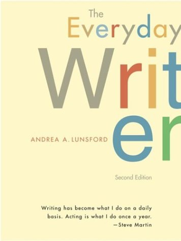 The Everyday Writer: Andrea Lunsford, Alyce