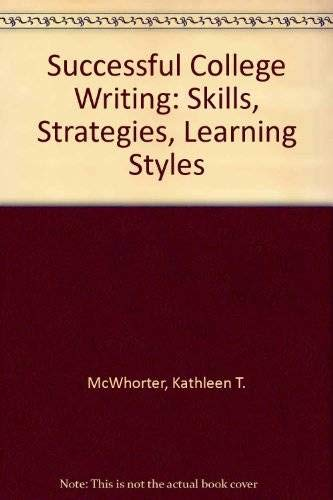 9780312243678: Successful College Writing: Skills, Strategies, Learning Styles, Annotated Instructor's Edition