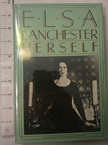 9780312243760: Elsa Lanchester, Herself