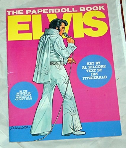 9780312243821: Elvis, the paperdoll book