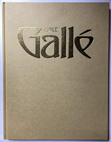 9780312244163: Emile Galle (Academy Art Editions)