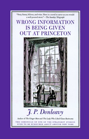Wrong Information Is Being Given Out at: J. P. Donleavy,